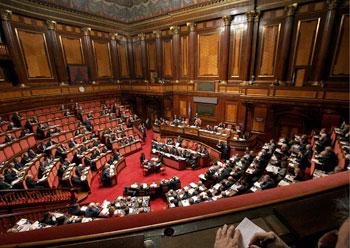 Il senato che verr secondo forza italia for Senato italia