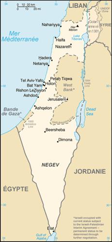 Cartina Geografica Della Palestina Di Oggi.L Opinione Delle Liberta